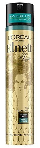 L\'Oréal Paris Elnett de Luxe Sanfte Wellen Starker Halt, 3er Pack (3 x 300 ml)