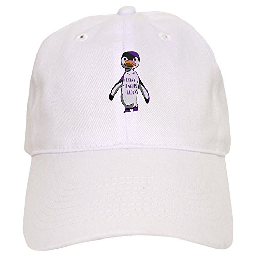 52120526d61 CafePress Crazy Penguin Lady - Baseball Cap with Adjustable Closure