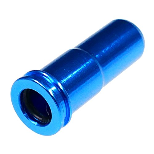 Element Airsoft Alloy M Series Air Nozzle Blue with O-Ring