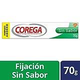 Corega Sin Sabor- Crema fijadora para prótesis dentales - 70 gr
