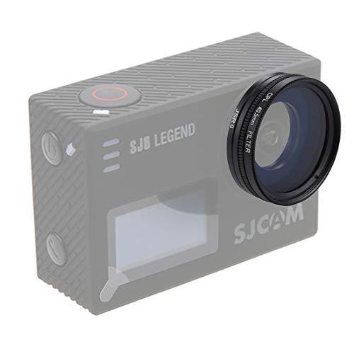 LINSE DIGITALKAMERALINSENFILTER GCMJ JSR-2056 4 in 1 40,5 mm UV + CPL-Linsenfilter-Kits mit Ringadapter + Objektivabdeckung für SJCAM SJ6 Electronic-light-action-kit
