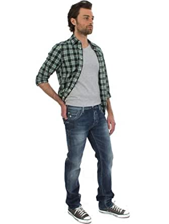Jeans REGULAR OLD USED VINTAGE/INDIGO TEDDY SMITH W29 Homme