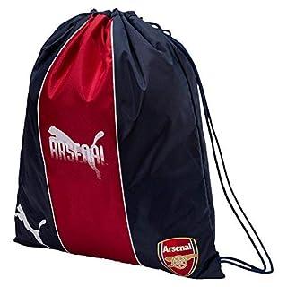 Puma Arsenal Fanwear Turnbeutel, Chili Pepper-Peacoat, 47.5x40x6 cm
