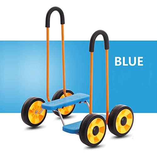 WYX Balance Fahrrad Kinder Reiten Fahrrad Kindergarten Spielzeug Roller Sensing Training Sportgeräte Safe Baby Fahrrad,D