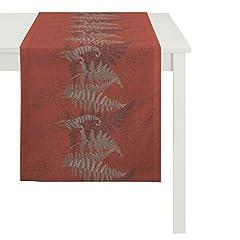 Idea Regalo - Apelt 290148X 14030Runner, Poliestere, Rosso, 48x 140cm