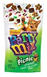 Friskies Party Mix Chicken, Turkey and Cheddar Cheese Flavor Picnic Crunch Cat Treats