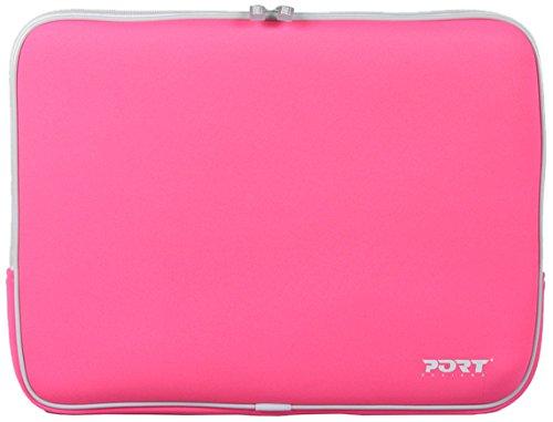 Miami Notebook Skin (Port Designs Miami Skin Pink 15.4'' Notebook Tasche Neopren pink)