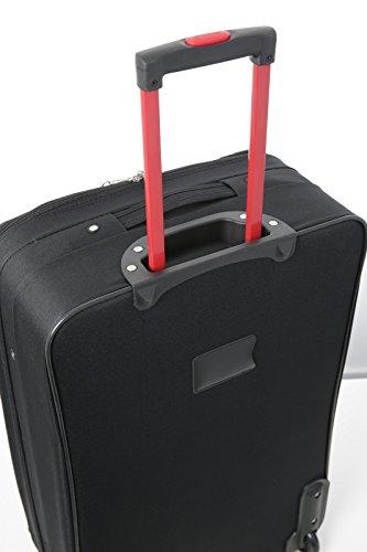 """5Cities X Grande 29""""ligero ampliable equipaje maletas, entrada con ruedas Rolling bolsa con 3años de garantía."""
