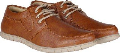 Butchi Men's Sneakers-7UK/India (41 EU) (C201610-Tan_7)