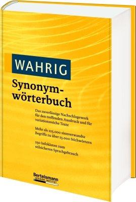 WAHRIG Band 3 Synonymwörterbuch
