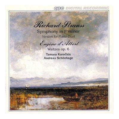 Schonhage-Korockin Piano Duo play Richard Strauss: Symphony in f minor Op. 12 / d'Albert: Waltzes Op. 6 by Various (2002-01-25)
