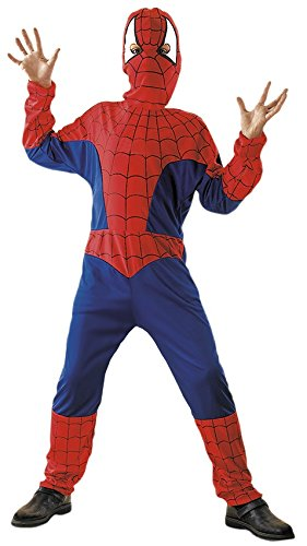 NE - Größe 110-120 cm, Super Spider Hero Verfilmung Comic Held Film Figur (Comic-figur Für Halloween-kostüm)