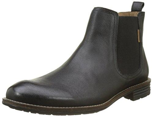 Schwarz Stiefel Herren Sale (Levi's Herren Huntington Chelsea Boots, Schwarz (Regular Black), 42)