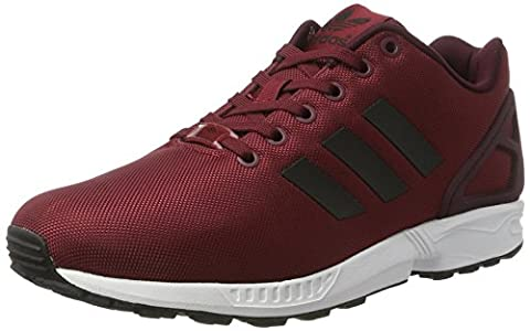 adidas Herren ZX Flux Laufschuhe, Rot (Collegiate Burgundy/core Black/ftwr White), 9 UK 43 1/3 EU