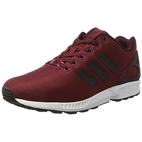f46464272dd08 Adidas Zx Flux University Core Shoes Greatful Mens Red Black ...