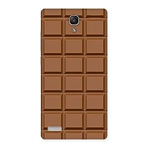 Premium Chocolate Class Print Back Case Cover for Redmi Note