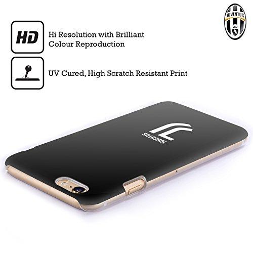 Ufficiale Juventus Football Club Banale Lifestyle 2 Cover Retro Rigida per Apple iPhone 6 / 6s Banale