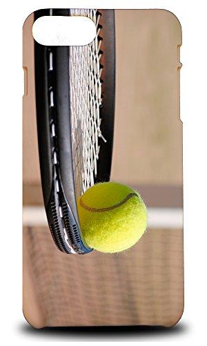 foxercases Design Tennis Schläger und Ball Hartschale Schutzhülle für Apple iPhone 7Plus -