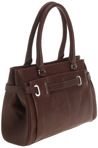Lab C - Diane, borsa  da unisex adulto Marrone (Chocolate)