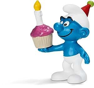 Schleich - 20751 - Figurine - Schtroumpf d'anniversaire