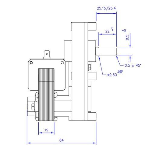 Zoom IMG-1 motoriduttore per stufa a pellet