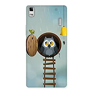 Gorgeous Raining Leader Owl Back Case Cover for Lenovo A7000