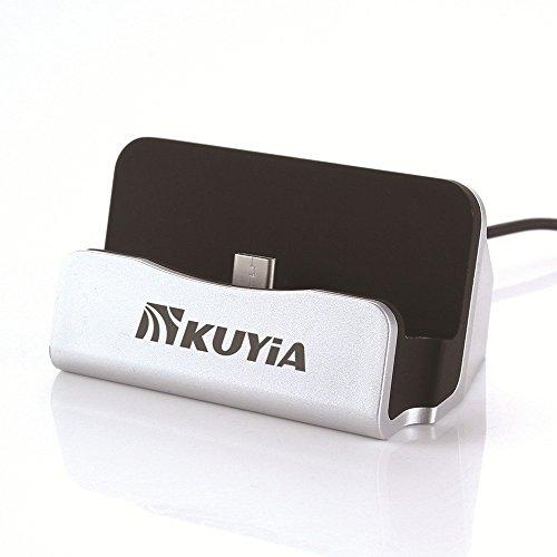 KUYIA USB 3.1Type-C Carica Dock stand stazione Desktop Dock di ricarica e sincronizzazione compatibile per ONEPLUS due 2/Xiaomi Mi4C Mi5M5/Meizu Pro 5