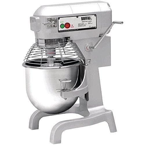 Buffalo Planetary Mixer 20Ltr 1100W 794x558x558mm Kitchen Restaurant