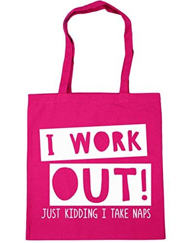 hippowarehouse-i-work-out-just-kidding-i-take-naps-gym-tote-shopping-gym-beach-bag-42cm-x38cm-10-lit