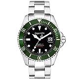Gigandet Herren-Armbanduhr Automatik Analog mit Edelstahlarmband Sea Ground G2-005
