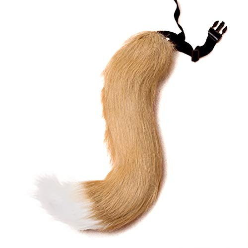 Official Website Fox Tail Anime Cosplay Unisex Halloween Family Cos Props Couples Life Flirting Tail Anal Plug Convenient To Cook Costumes & Accessories