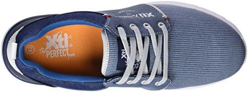 Xti 47145, Sneakers Basses Homme Bleu (Blue)
