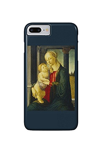 Madonna and Child - Masterpiece Classic - Artist: Sandro Botticelli c. 1470 (iPhone 7 Plus Cell Phone Case, Slim Barely There) -