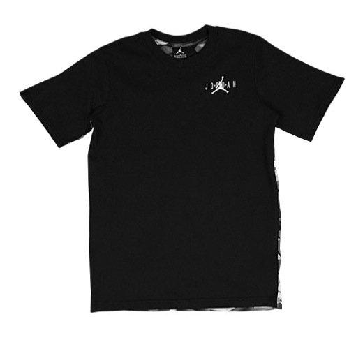 Nike Jungen Athletic Shirt (Jordan Retro 7bedrucktes T-Shirt, Jungen, schwarz)
