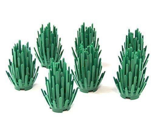 7x Custom Strauch Pflanze Busch Hecke Grünzeug für LEGO® Landschaftsbau City (Landschaftsbau Sträucher)