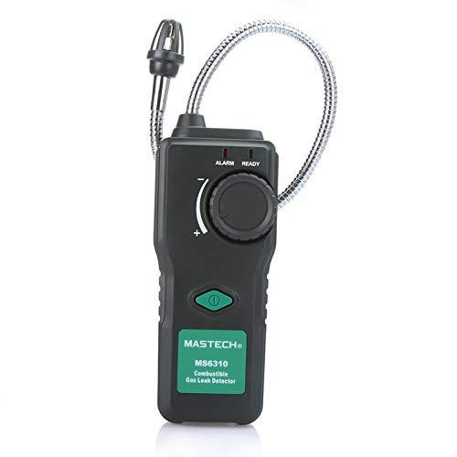 Ancient vine green,air quality monitor Gasanalysator Multifunktionaler Detektor for brennbare Luft Testgerät for brennbare Gaslecks 10% -40% Ton Licht Alarm Einstellbare Empfindlichkeit -