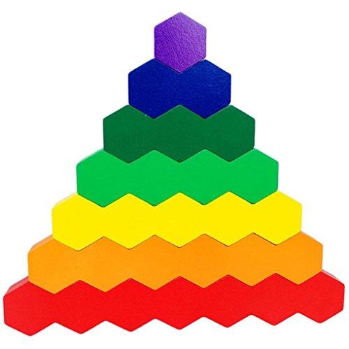 Gusspower Rompecabezas Bloques de Construcción Juguetes Variety Hive Bloques de Construcción con Distorsión Múltiple Educación Juguetes para Niños
