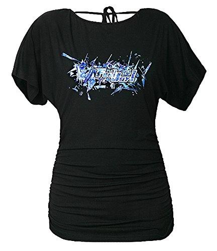 Feel joy! Camicia da donna bambina Fita Way, Black, taglia unica, FJ05902349672915