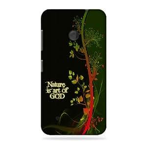 alDivo Premium Quality Printed Mobile Back Cover For Nokia Lumia 530 / Nokia Lumia 530 Printed Back Cover (3D)RK-AD012