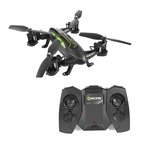 LL37200 Footprintes Air-Road Modelo Doble FY602 Flying Car con cámara HD 2.4G RC Quadcopter Drone 6 Ejes 4CH helicóptero Ejecutar Lados Dobles