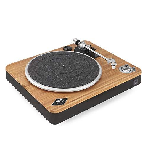 House of Marley Stir It Up Giradischi Bluetooth Wireless, 45/33 Giri, Piatto Lega di Alluminio, Braccio in Metallo Rigido, Cartuccia MM Audio-Technica