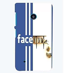 printtech Books Back Case Cover for Nokia Lumia 530::Microsoft Lumia 530