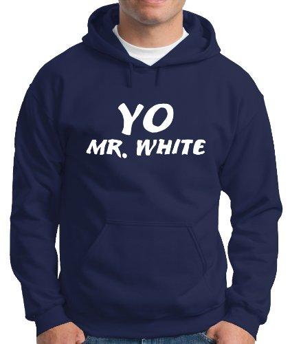 Touchlines Herren Kapuzen Pullover Yo Mr. White Hooded Sweatshirt, navy, XXL, B140313KS Preisvergleich