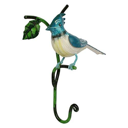 Wonderland Home decor Hooks BLUE jay