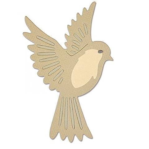 Sizzix Thinlits Die Set 3PK - Natural Bird by Pete