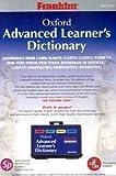 Franklin OALD-3054 Oxford Advanced Learner's Dictionary, Sprechende Bookman Karte Englisch, 1 ROM-Karte Passend für alle Bookman II und III Geräte.
