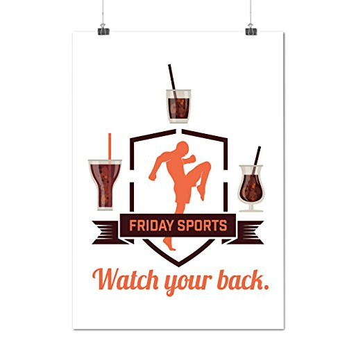 friday-sport-drink-shot-glass-matte-glossy-poster-a3-42cm-x-30cm-wellcoda