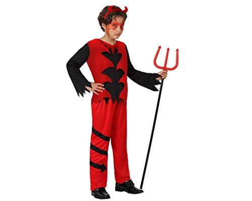 Costume Da Demone Bambino Taglia 10/12 Anni_14835