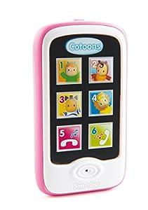 Smoby Cotoons Smartphone-Luces y Sonidos,Funciones de grabación y reproducción