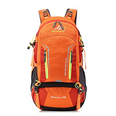50 L Tourenrucksäcke/Rucksack Rucksack Camping & Wandern Klettern Multifunktions andere ruby